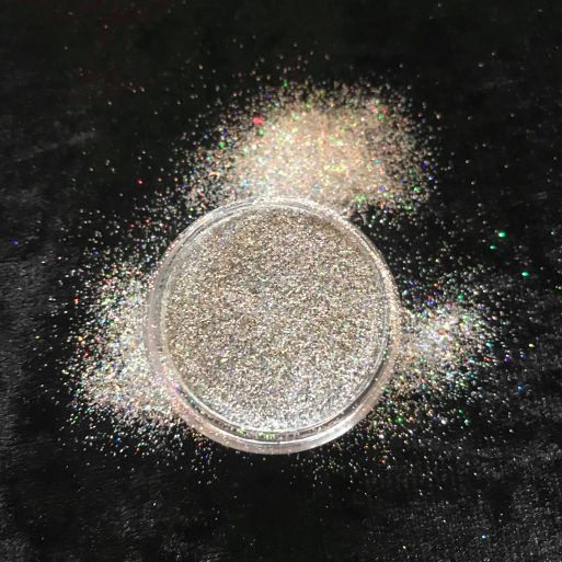 Buy Holographic White Glitter