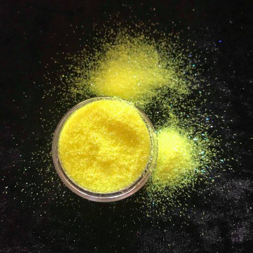 Buy Sunshine Yellow Glitter at Gliterized